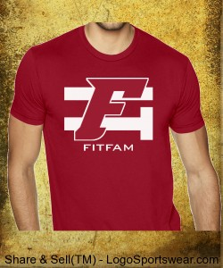 FITFAM EITE CARDINAL RED Design Zoom
